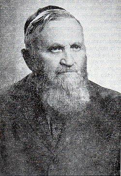 אברהם יעקב ברור, בגיל 81
