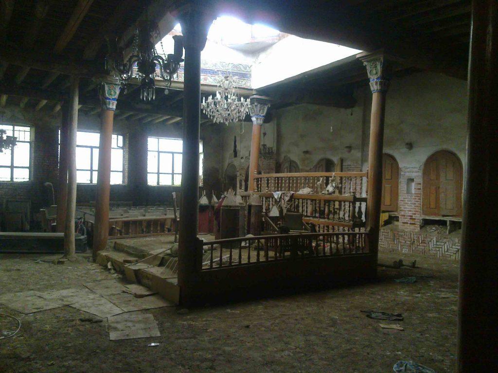 בית הכנסת באורמיה, 2012