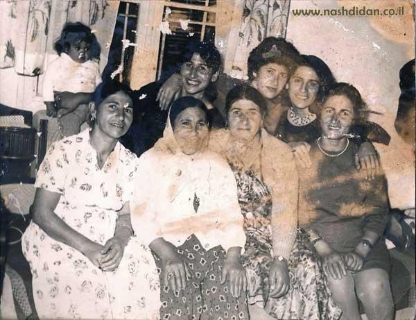 1961 משפחת ראובן זאדה